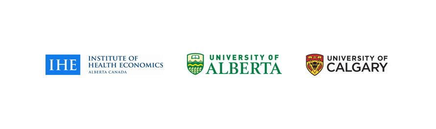 Consortium co-chairs: Institute of Health Economics, University of Alberta, University of Calgary