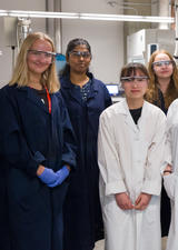 Job shadowing encourages Calgary girls to consider STEM careers