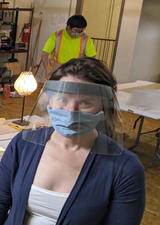 UCalgary researchers leading delivery of 12,000 COVID-19 face shields
